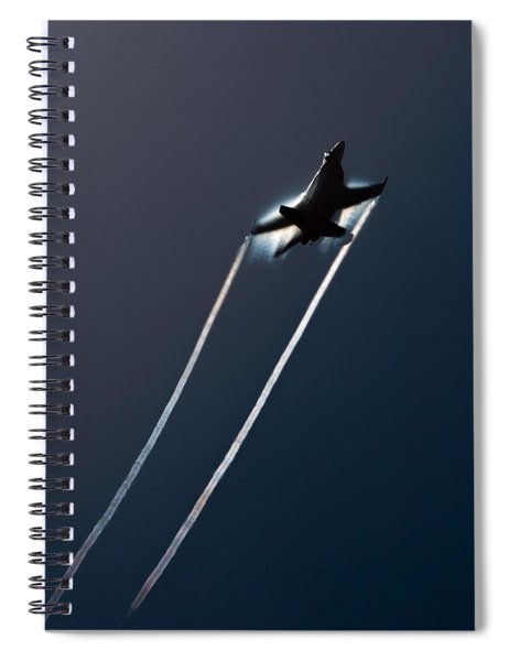 Ascending To The Heavens Spiral Notebook