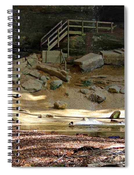Ash Cave In Hocking Hills Spiral Notebook