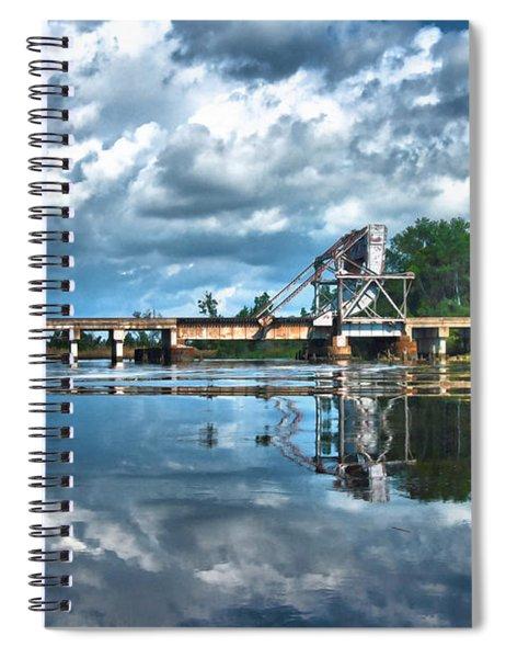 Ashepoo Train Trestle Spiral Notebook