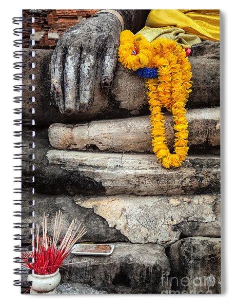 Asian Buddhism Spiral Notebook