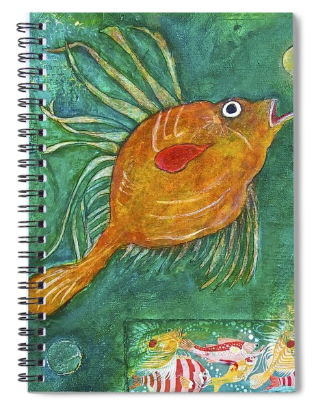Asian Fish Spiral Notebook