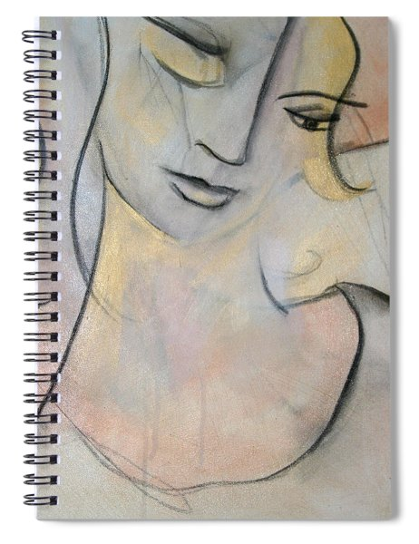 Asleep In The Golden Choker Of Dreams Spiral Notebook