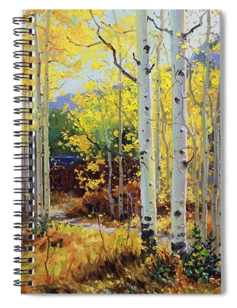 Aspen Cabin Spiral Notebook
