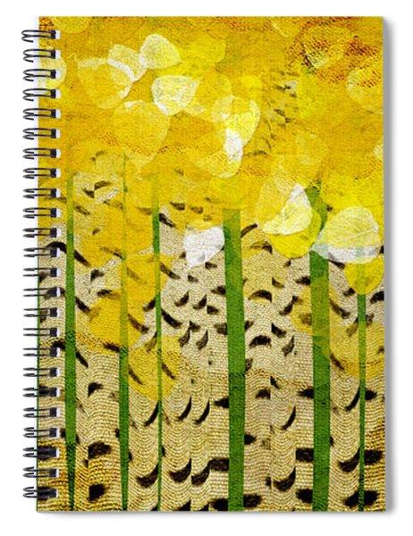 Aspen Colorado Abstract Panorama Spiral Notebook