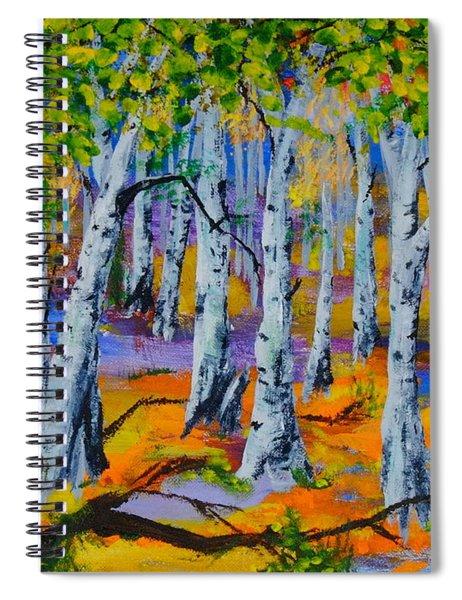 Aspen Friends In Walkerville Spiral Notebook