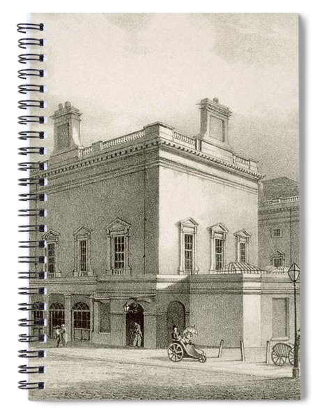 Assembly Rooms, Bath, Circa 1883 Spiral Notebook