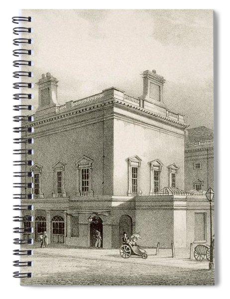 Assembly Rooms, Bath, Circa 1883 Spiral Notebook