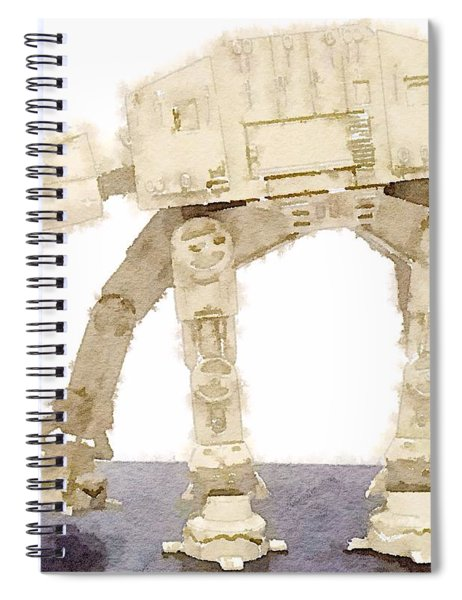 At-at All Terrain Armored Transport Spiral Notebook