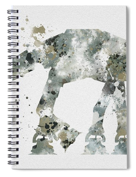 At - At Spiral Notebook