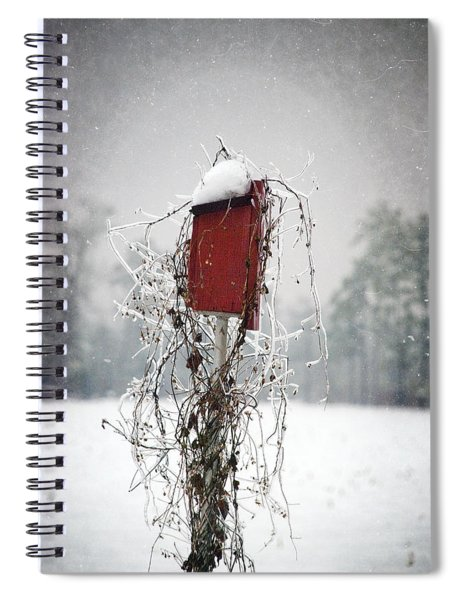 At Home In The Snow Spiral Notebook