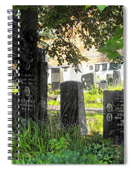 At Rest - Novodevichy Cemetery - Russia Spiral Notebook