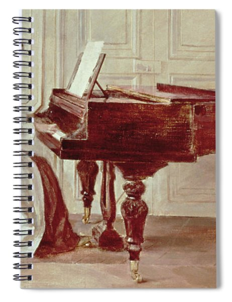 At The Piano Spiral Notebook