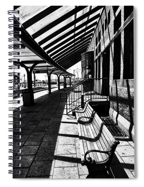 At The Station Spiral Notebook