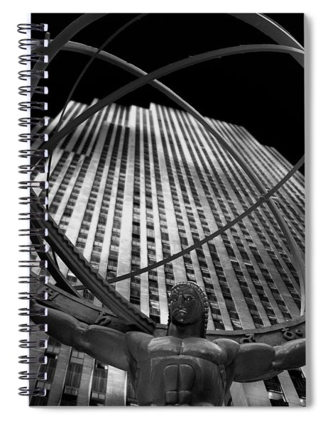Atlas Rockefeller Center Spiral Notebook