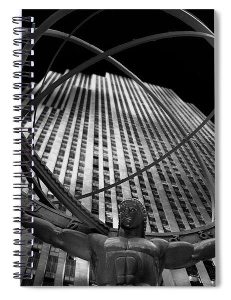 Atlas Rockefeller Center Spiral Notebook