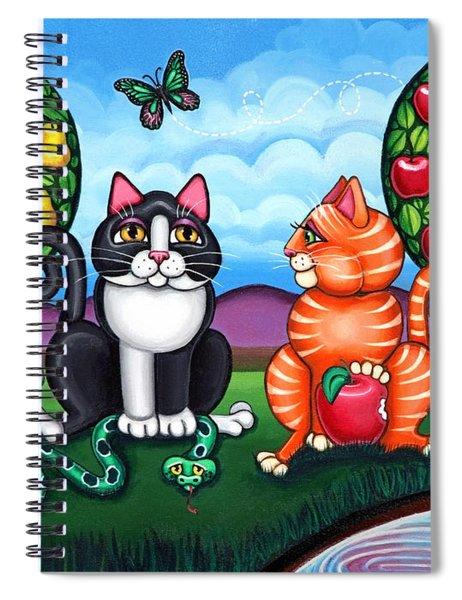 Atom And Eva Spiral Notebook