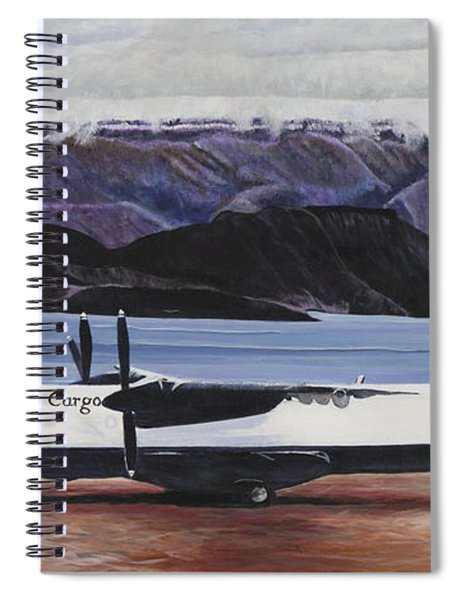 Atr 72 - Arctic Bay Spiral Notebook