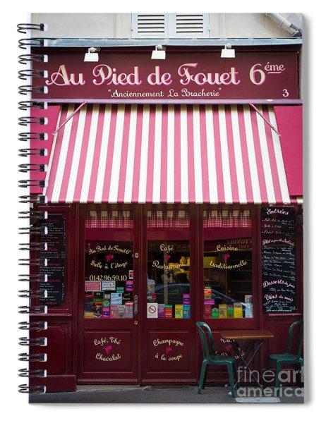 Au Pied De Fouet Spiral Notebook