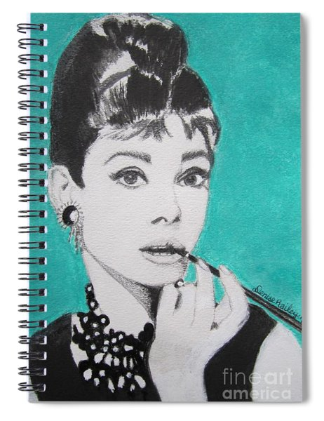 Audrey Spiral Notebook