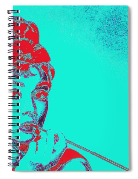Audrey Hepburn 20130330v2p128 Spiral Notebook