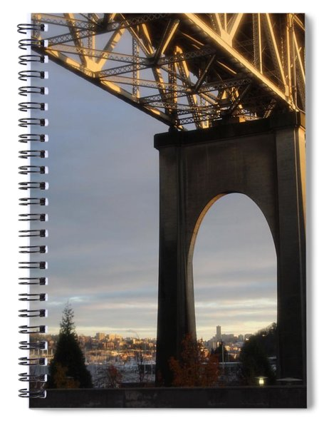 Aurora Bridge Seattle Washington  Spiral Notebook