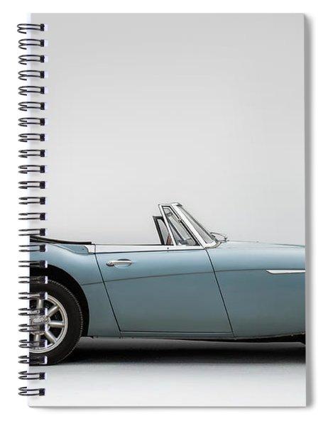 Austin Healey 3000 Mkiii Spiral Notebook
