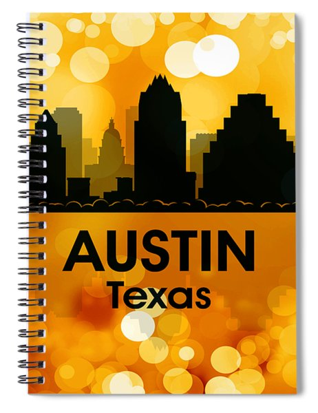 Austin Tx 3 Spiral Notebook