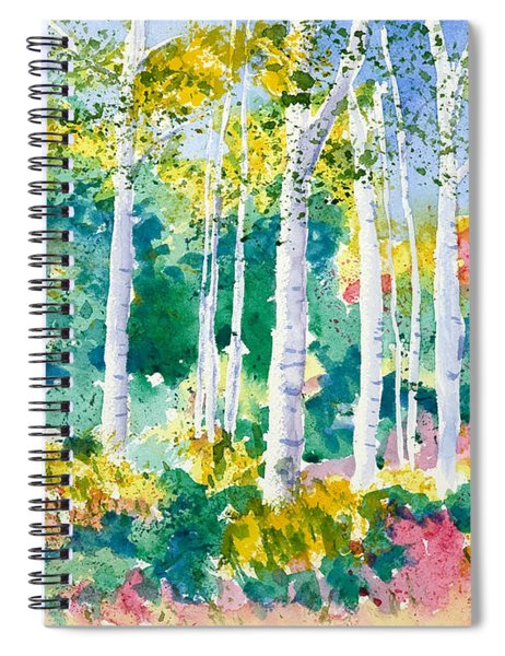 Autumn Aspen Spiral Notebook