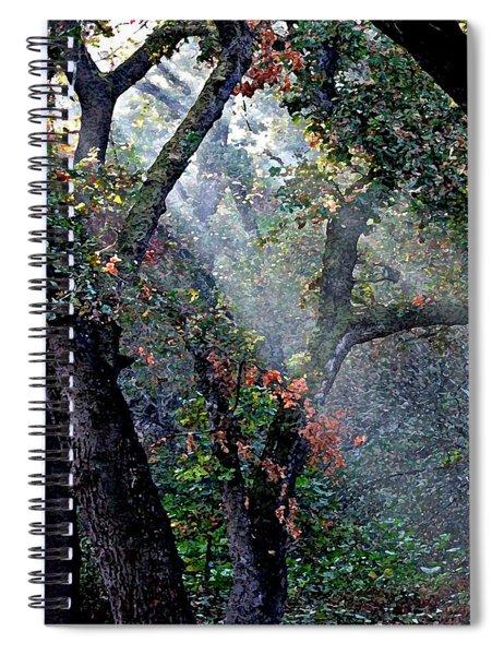 Autumn At First Light Spiral Notebook