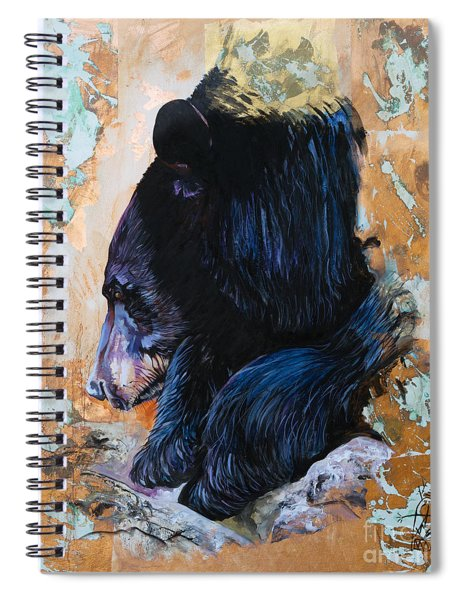 Autumn Bear Spiral Notebook
