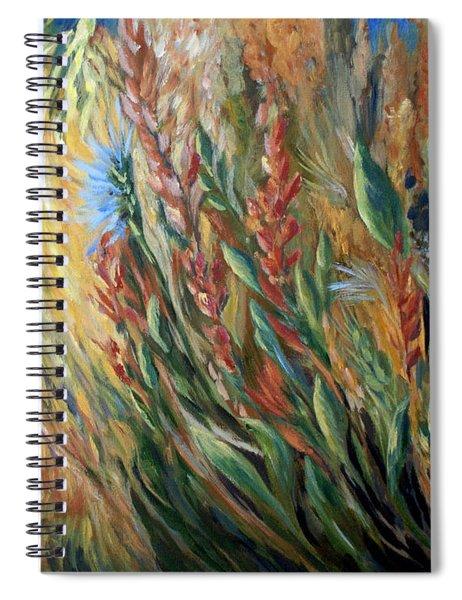 Autumn Bloom Spiral Notebook