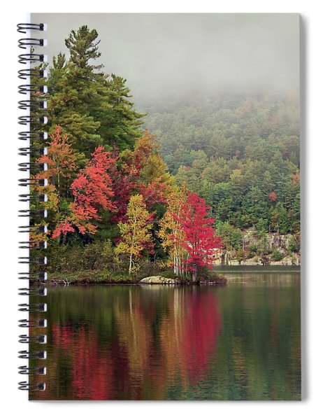 Autumn Breath Spiral Notebook