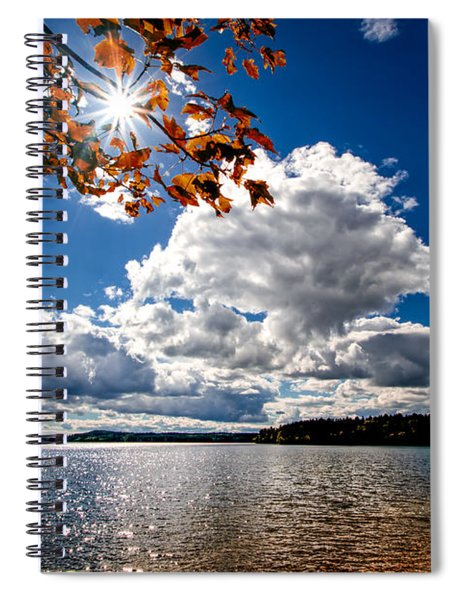 Autumn  Confidential  Spiral Notebook
