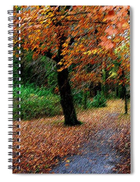 Autumn Entrance To Muckross House Killarney Spiral Notebook