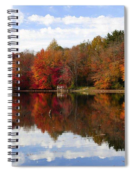 Autumn Explosion Spiral Notebook