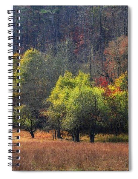 Autumn Field Spiral Notebook