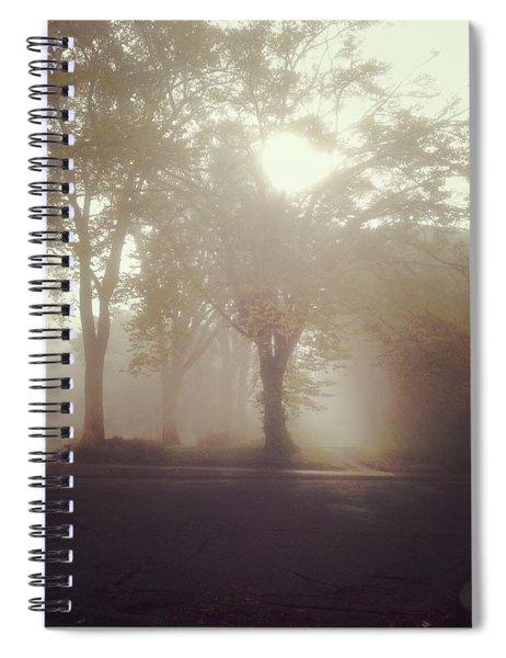 Autumn Fog Spiral Notebook