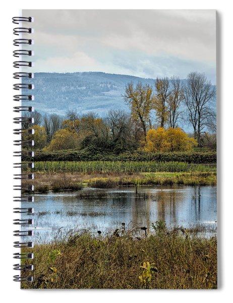 Autumn Haven Spiral Notebook