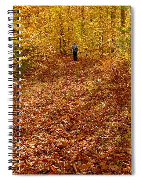 Autumn Hike Spiral Notebook