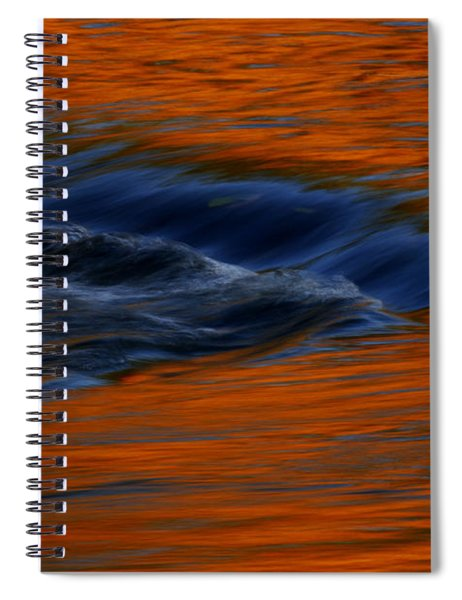 Autumn River Georgia Spiral Notebook