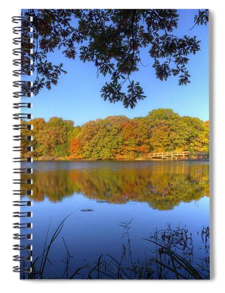 Autumn In Heaven Spiral Notebook