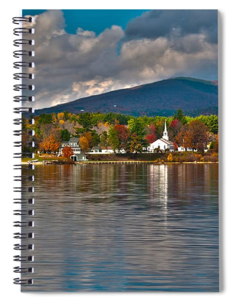 Autumn In Melvin Village Spiral Notebook