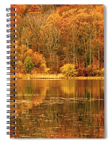 Autumn In Mirror Lake Spiral Notebook