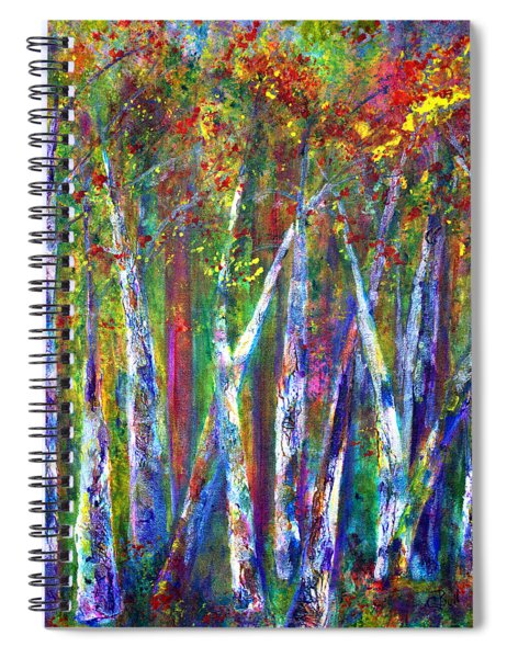 Autumn In Muskoka Spiral Notebook