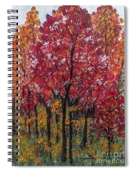 Autumn In Nashville Spiral Notebook