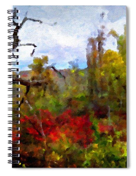 Autumn In New England Spiral Notebook
