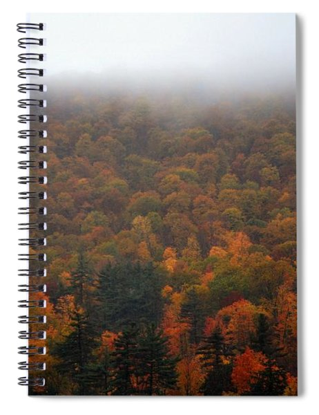 Autumn In New Hampshire Spiral Notebook
