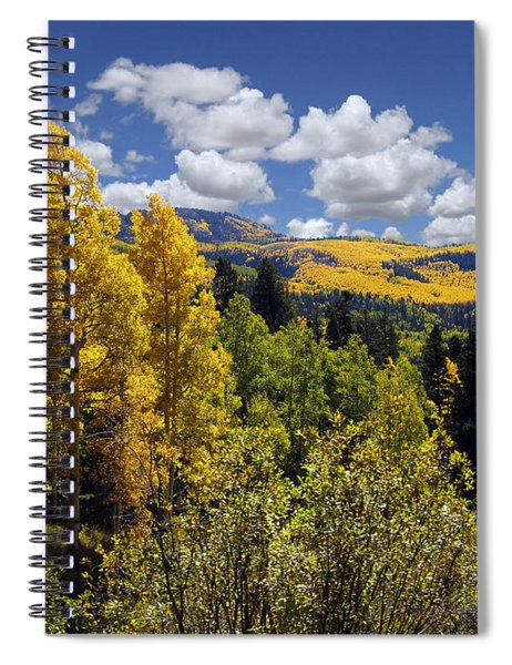 Autumn In New Mexico Spiral Notebook