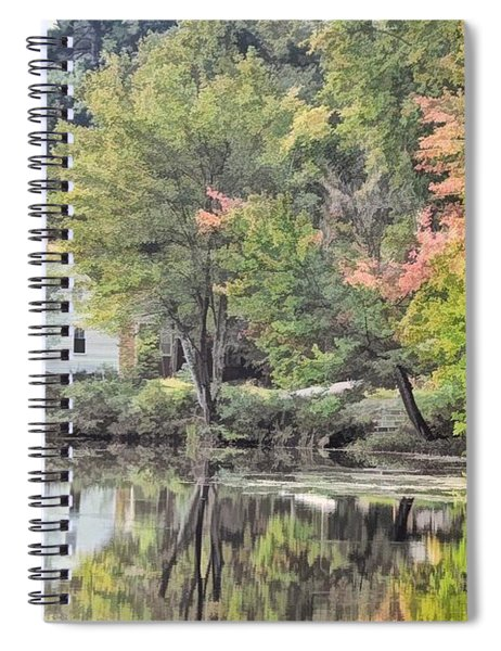 Autumn In Pastel Spiral Notebook