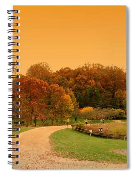 Autumn In The Park - Holmdel Park Spiral Notebook
